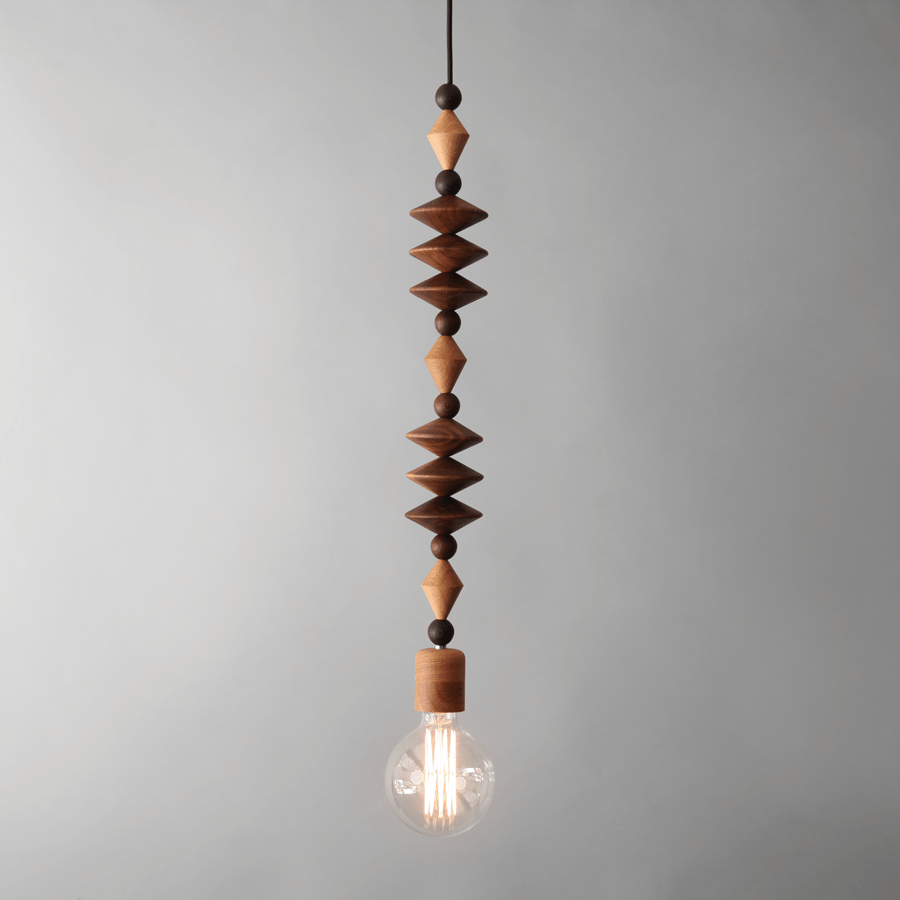 Art pendant light