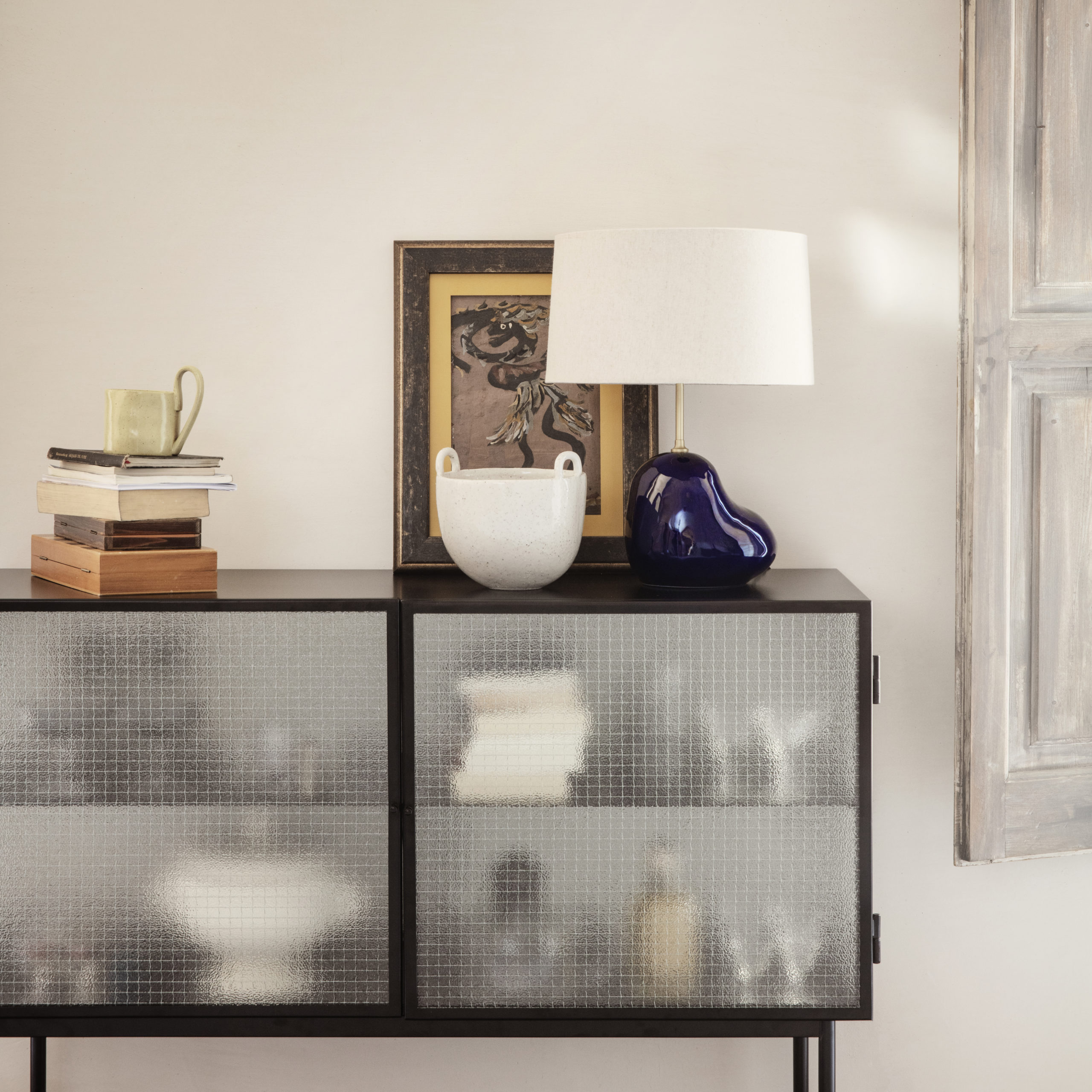 Haze Sideboard - Black - In Situ Detail