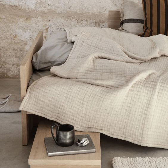 Ferm Living - Daze Bedspread In Situ
